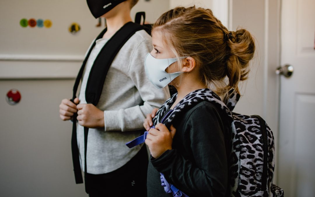 Helping Kids' Systems After Wearing Masks All Day